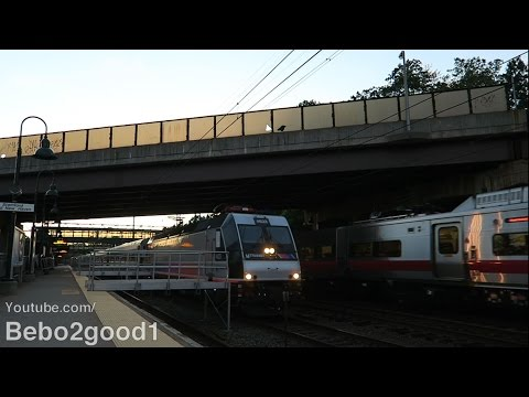 NJ Transit Meadowlands Football Train (New Haven Line) at Rye, NY RR
