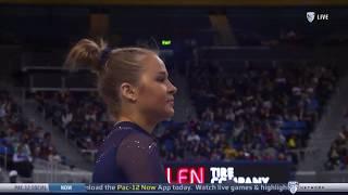 Madison Kocian Floor UCLA vs California 2020 9.850