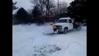 2 wheel drives plow snow!