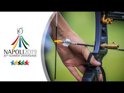 Live: Recurve Team Finals   Napoli 2019 Universiade