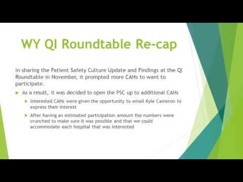 Patient Safety Culture PSC Survey