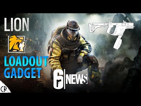Lion's Gadget & Loadout & Backstory - 6News - Tom Clancy's Rainbow Six