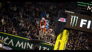 Supercross Rewind - 2017 Round 3 - 450SX Main Event - Anaheim