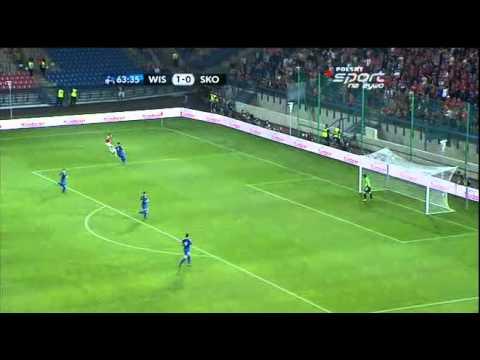 Wisła Kraków - Skonto Ryga 2:0 Mecz Rewanżowy - Skrót meczu