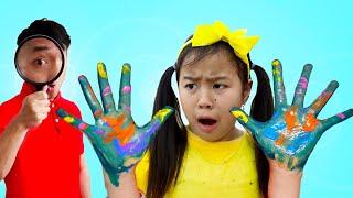Wash Hands Healthy Habits Song   Jannie Sing-along Nursery Rhymes Kids Songs
