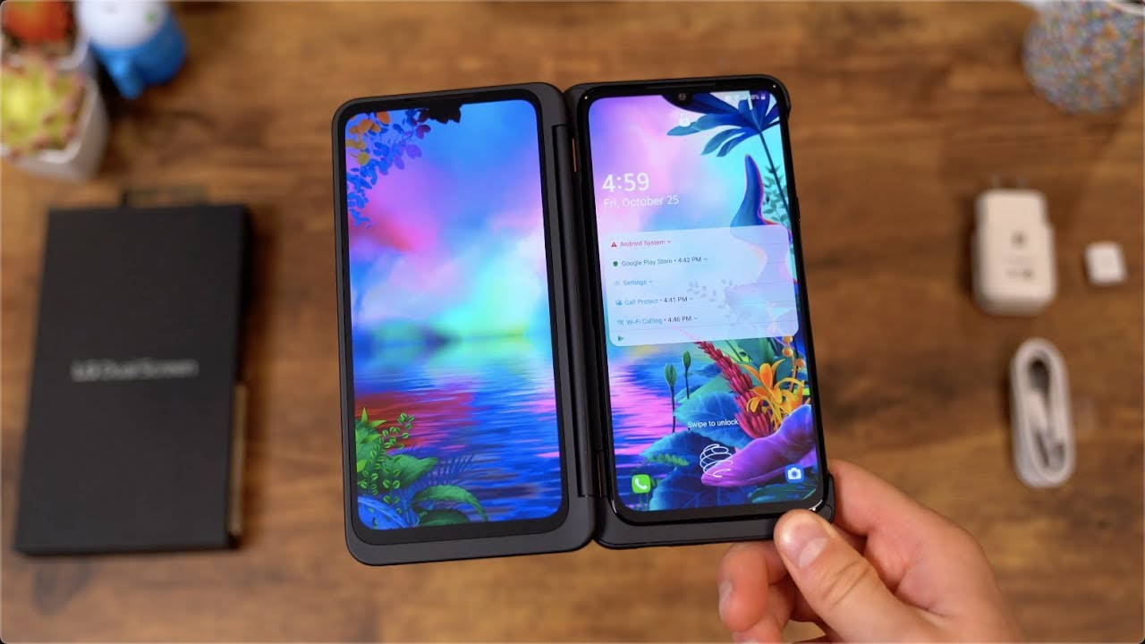 LG G8X ThinQ Unboxing: Dual Screens
