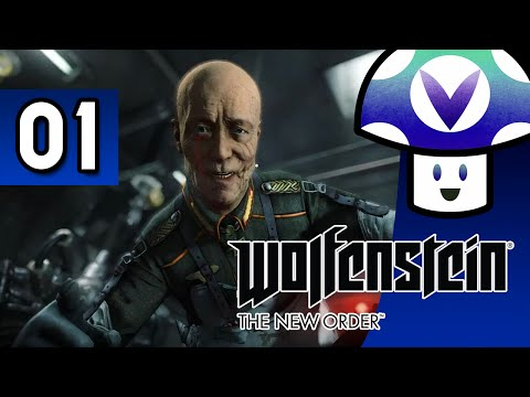 [Vinesauce] Vinny - Wolfenstein: The New Order (part 1) + Art!