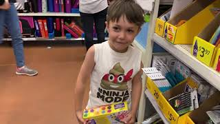 Back to School  Shopping - Learn and Play with Zack