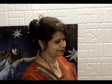 Peshwai Khopa Hairstyle Youtube