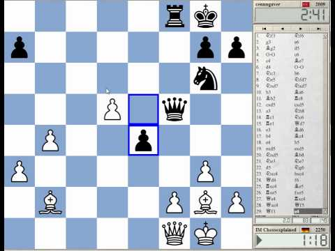 Blitz Chess #1159 with Live Comments Catalan Opening