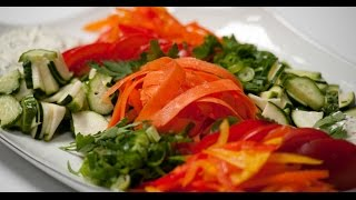 Овощное ассорти    7 нот вегетарианской кухни