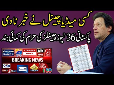 Imran Khan Has Introduced New Rates for Electronic Media