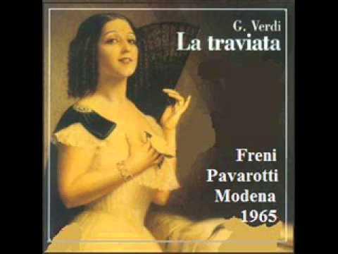 La Traviata - Act 2 (Pavarotti, Freni - Modena '65)