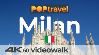 Walking in MILAN / Italy - 4K 60fps (UHD)