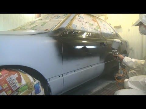 Как покрасить автомобиль своими руками в домашних условиях видео