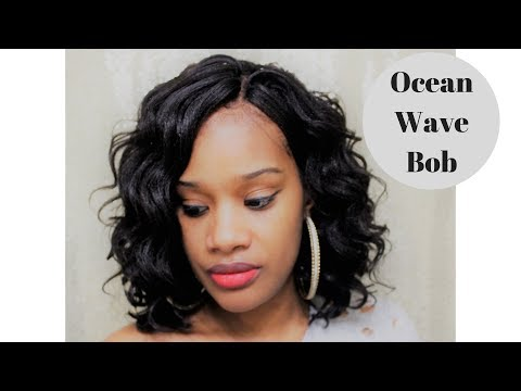 OCEAN WAVE BOB USING CROCHET BRAIDS **HARLEM 125 KIMA BRAID