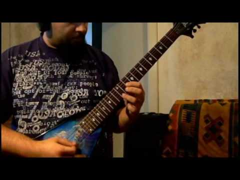 The Count of Tuscany (Dream Theater) on guitar.