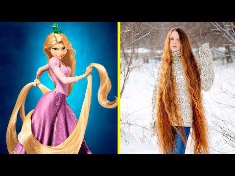 Gerçek Hayatta Var Olan 10 Rapunzel