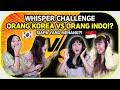KOREAN WHISPER CHALLENGE TERNGAKAK!  Borassaem with @Priscilla Lee @Danielle Lee & Ai