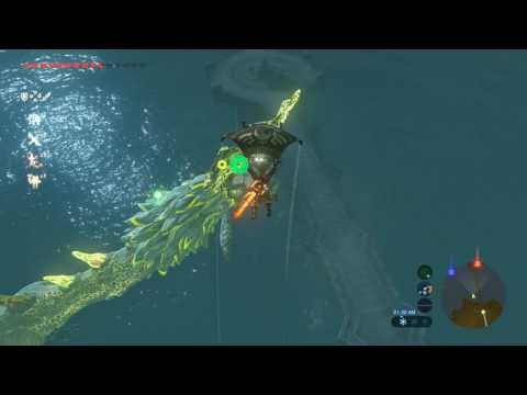 Zelda Breath Of The Wild Farming Farosh/Dragons
