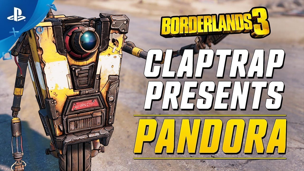 Borderlands 3 – العرض التشويقي للعبة Claptrap Presents: Pandora ‏| PS4