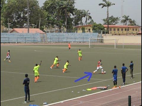 MATCH HIGHLIGHTS: Giwa Olufisayo vs Fc Barcelona Academy, Lagos @fcbescolalagos #TFAFCB 2018