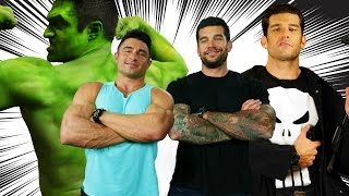 The Bulletproof Back Workout -- With Hulk And The Punisher