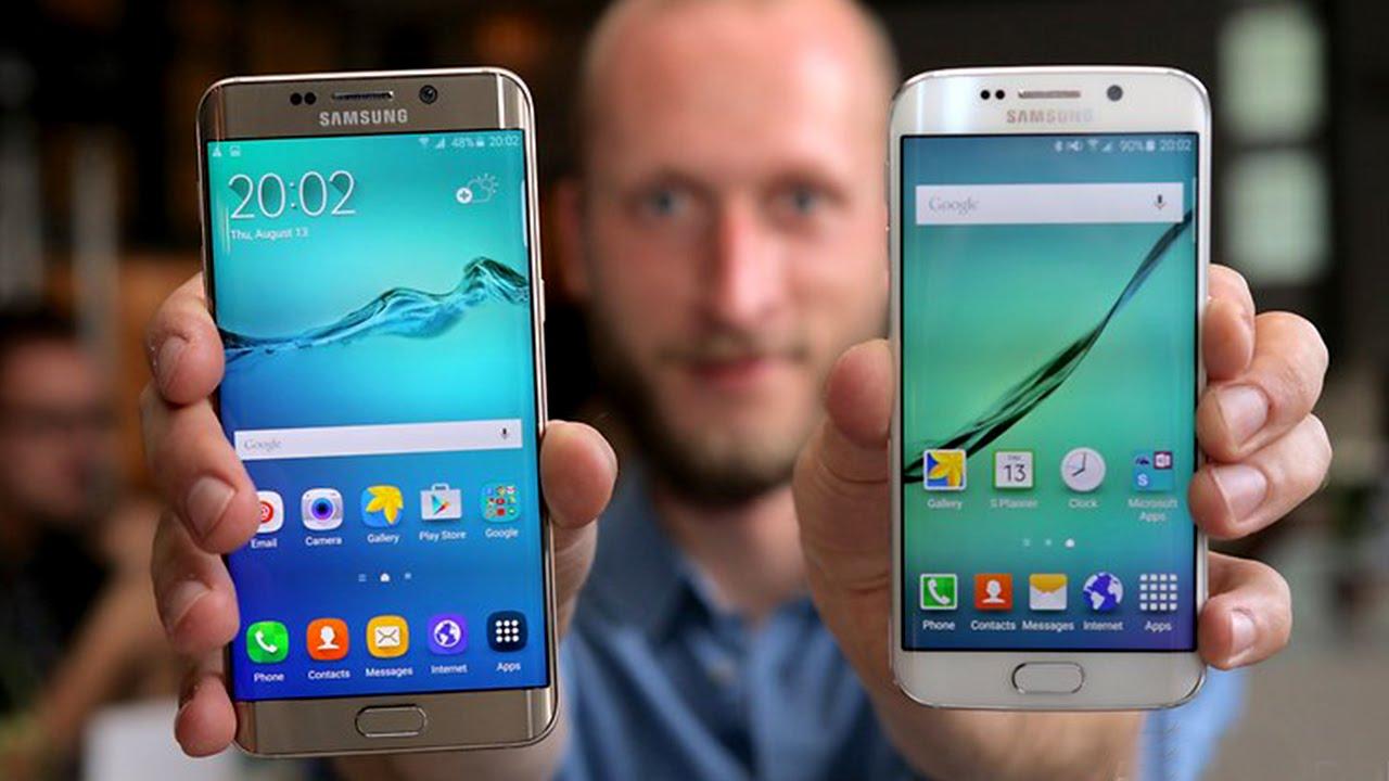 Galaxy S6 Edge Vs Galaxy S7 Edge Comparison