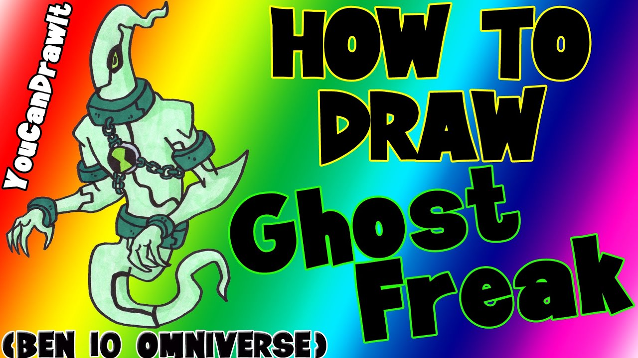 Download How To Draw Ghostfreak from Ben 10 Omniverse ✎ YouCanDrawIt ツ 1080p HD