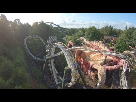 Alton Towers celebrates National Rollercoaster Day will Nemesis drone race