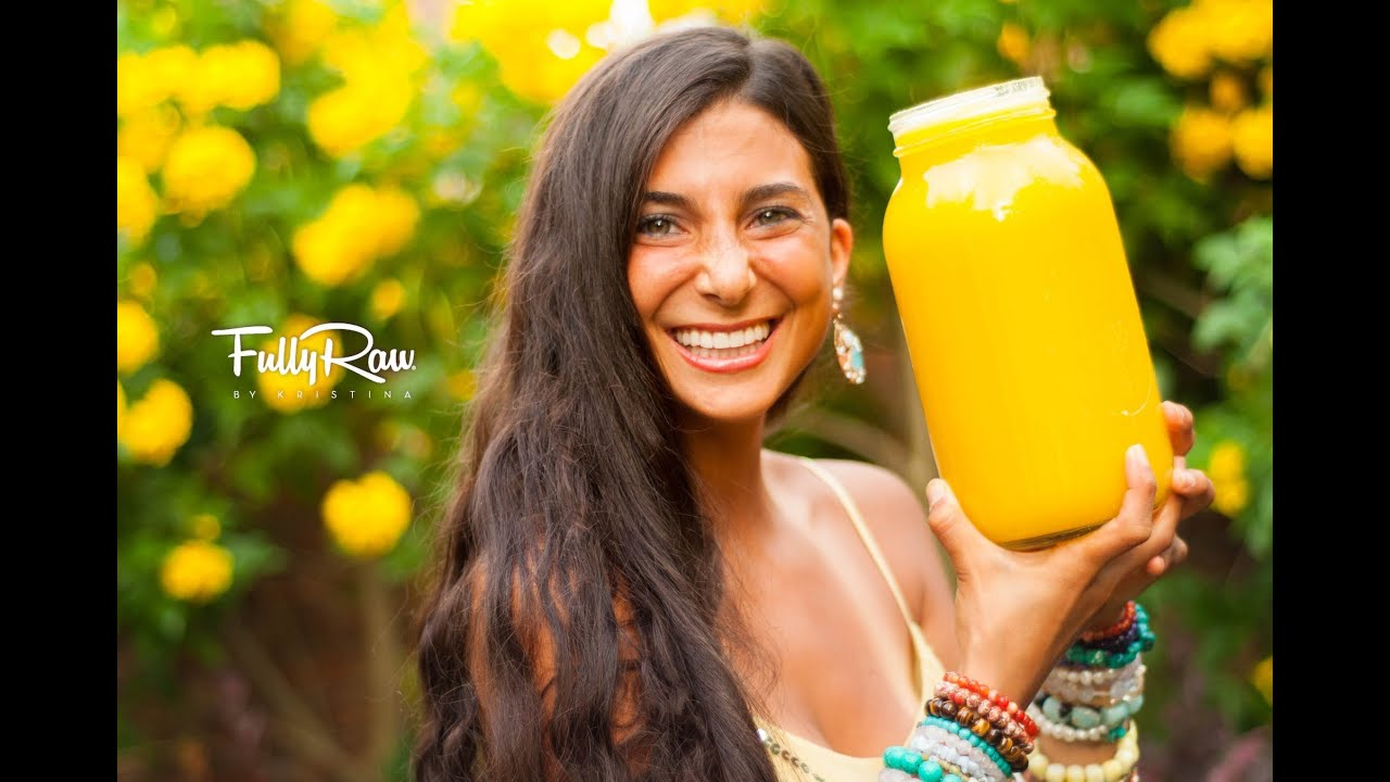 The FullyRaw Sunburst Juice!