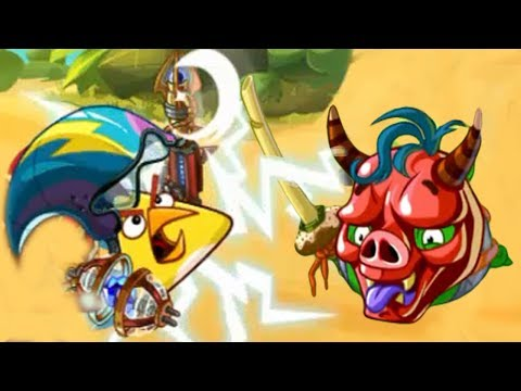 CHUCK Vs BOSS EVENT UNDER THE CLOUD OF NIGHT! Angry Birds Epic