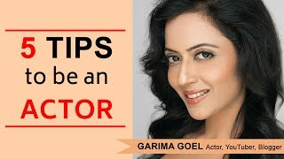 95% लोग करते है ये गलतिया Acting करियर में | Interview on Acting career with Garima Goel