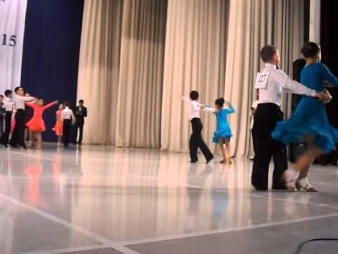 """Ан Артем и Ли Валерия. Международный Турнир """"TASHKENT OPEN - 2015""""  -  Самба."""