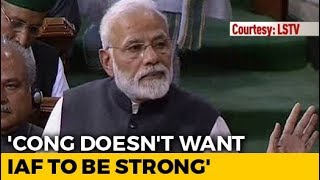 PM Refers To Rafale Deal, Says Congress Doesn't Want Strong Armed Forces