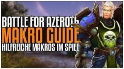 Hilfreiche Makros & Wie man sie erstellt | [World of Warcraft]