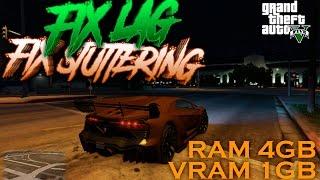 GTA 5 PC | Tutorial Grand Theft Auto 5 (GTAV) Fix Stuttering & Lag | Low end PC