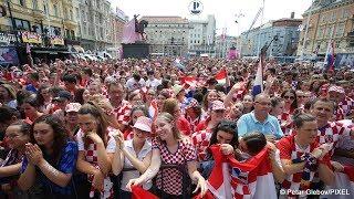 Prenosimo vam izravno povratak hrvatske nogometne reprezentacije sa...