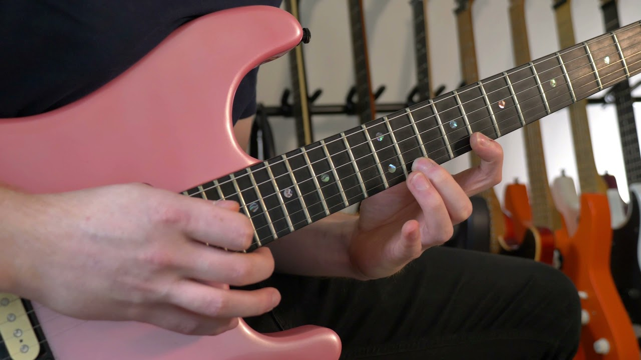 Cameron Cooper Electric Guitar Lesson – Stretchy Licks that Sound Hard | ELIXIR Strings