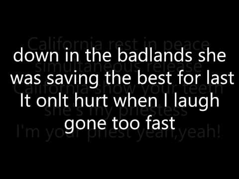 Red Hot Chilli Peppers: Dani California Lyrics