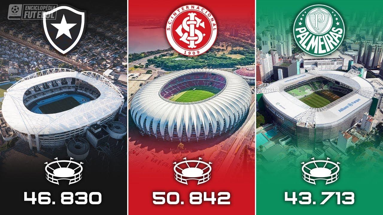 Os ESTÁDIOS de cada TIME no BRASILEIRÃO 2020