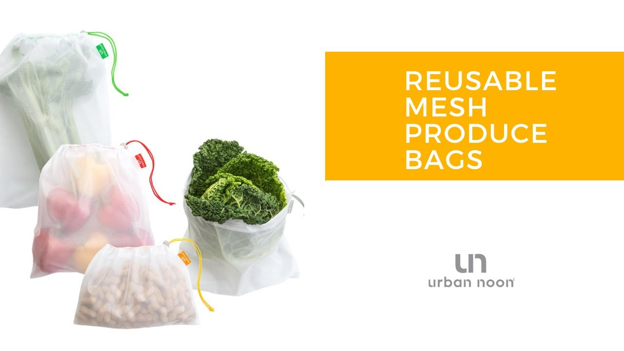 Reusable Polyester Mesh Produce Bags