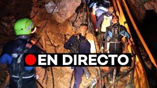 En directo: Tailandia, todos lo niños y el entrenador rescatados