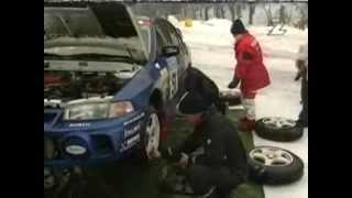 Rally VM 1998 Deltävling 2 Svenska rallyt sista etappen