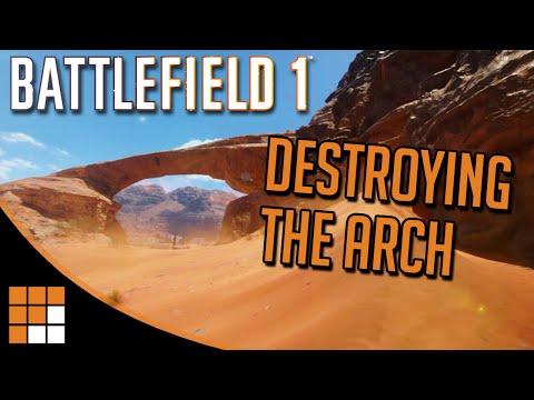 Battlefield 1: Destroying the Arch on Sinai Desert
