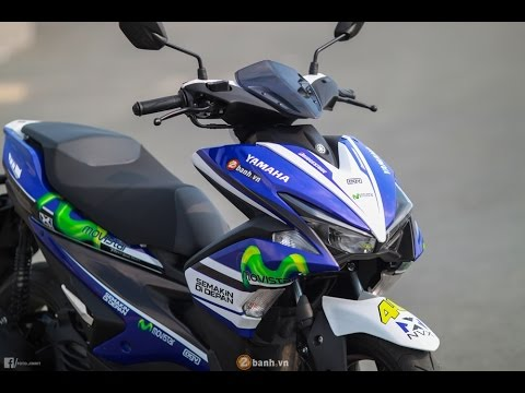 Yamaha AEROX 155 Movistar MotoGP - YouTube