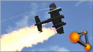 BeamNG Drive B25 Mitchell   Plane Crashes #4