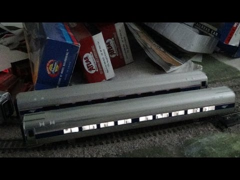 How To Install Lighting Kit Into Walthers Ho Scale Amfleet II Coach Car