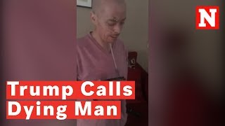 President Trump Calls Dying Connecticut Man On His Deathbed