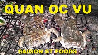 Vietnamese St food Quan Oc Vu Saigon Ho Chi Minh City Vietnam 2016